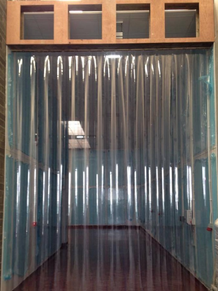 X Out Reviews >> Clear PVC Strip Curtains - Goss Flyscreens