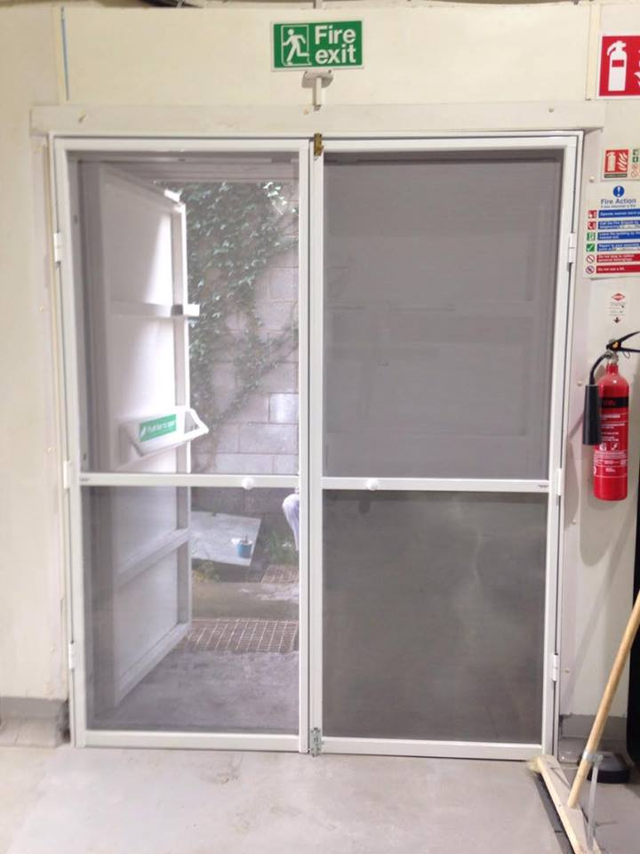 Double Hinged Screen Door Goss Flyscreens
